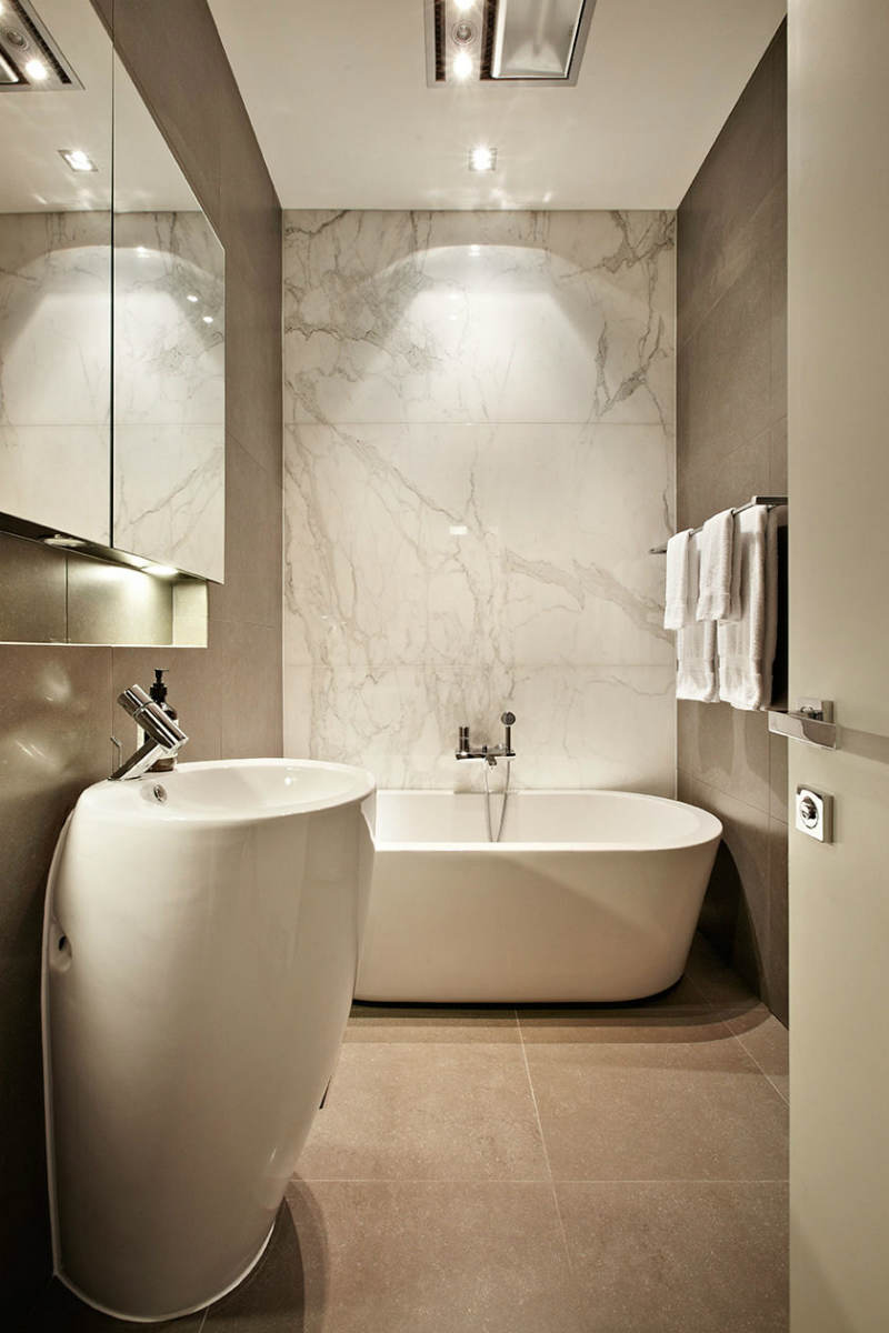 Interior Design: 9 luxury bathrooms with natural stone ...