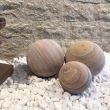 Rainbow Sandstone Decorative Sphere 30 cm 0