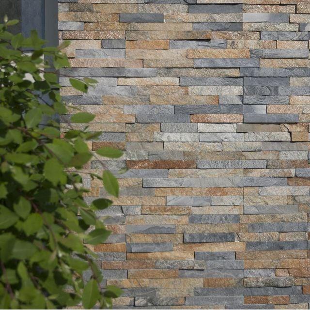 Natural decorative stone Sahara Slate Wall Cladding Panel 15 x 60 cm ...