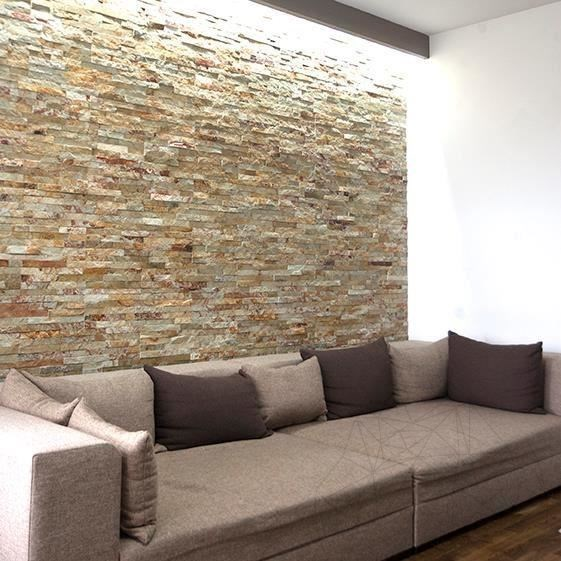 Decorative Natural Stone Sparta Limestone Wall Cladding