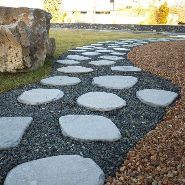 Kavala Slate Tumbled Japanese Garden Steps