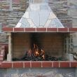 Garden Barbeque & Grill System 'Big' with polygonal flagstone 4