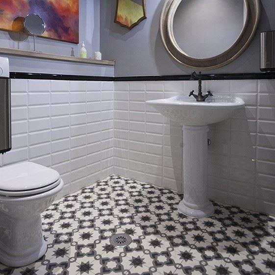 Oriental Terrazzo KR 09 Black 20 X 18 Cm Cost Manual Decorative Tiles