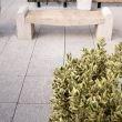 Padang Yellow Granite Garden Bench (165 x 40 x 50 cm) 1