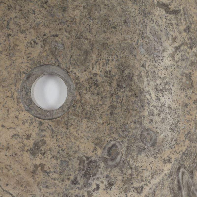 Bathroom Sink Silver Travertine Rs 21 41 X 33 5 X 15 Cm