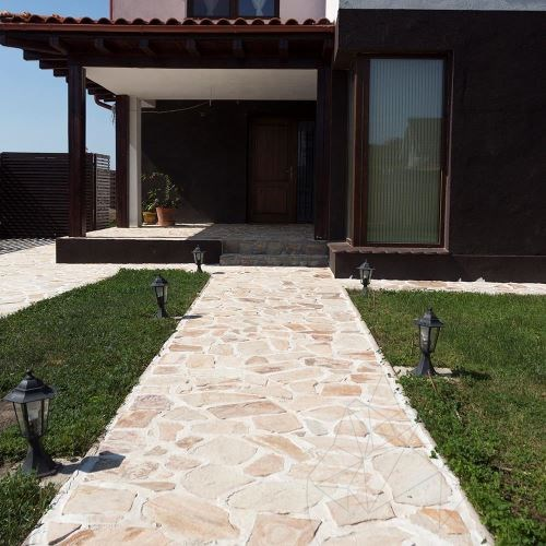 Rhodos Polygonal Slate - Patio flagstone slabs