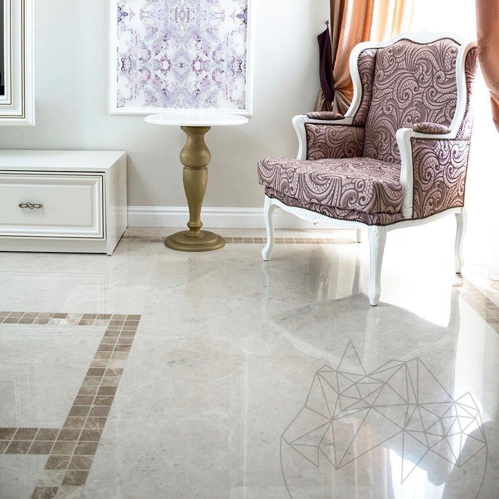 Burdur Beige Polished Marble 60 x 30 x 2 cm