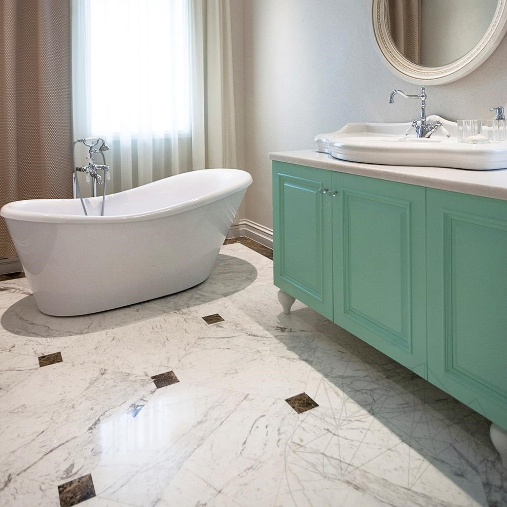 Volakas Polished Marble 60 x 30 x 2 cm - Economy - PIATRAONLINE.com