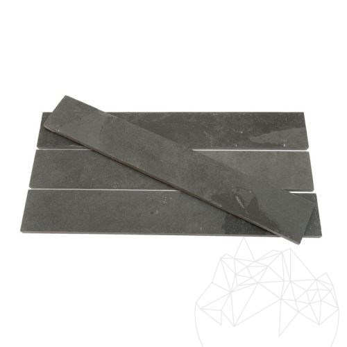 Anthracite Black Riven Slate 5 x 30 cm - Stock Clearance