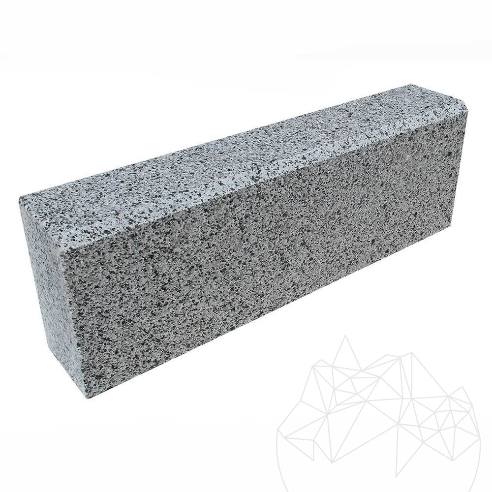 Grey Granite Kerbstone (Beveled 1L - 2 cm) 10 x 15 x 50 cm