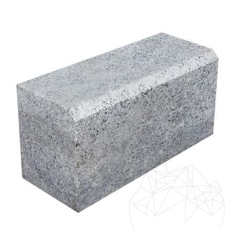 Grey Granite Kerbstone (Beveled 1L - 2 cm) 20 x 25 x 50 cm