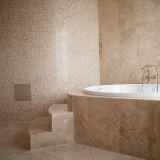 Classic Cross Cut Travertine Polished cut-to-size slabs 2 cm