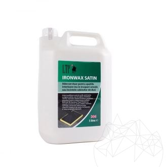 LTP Ironwax Satin - Self shine satin finish film forming acrylic sealer (interior use only)