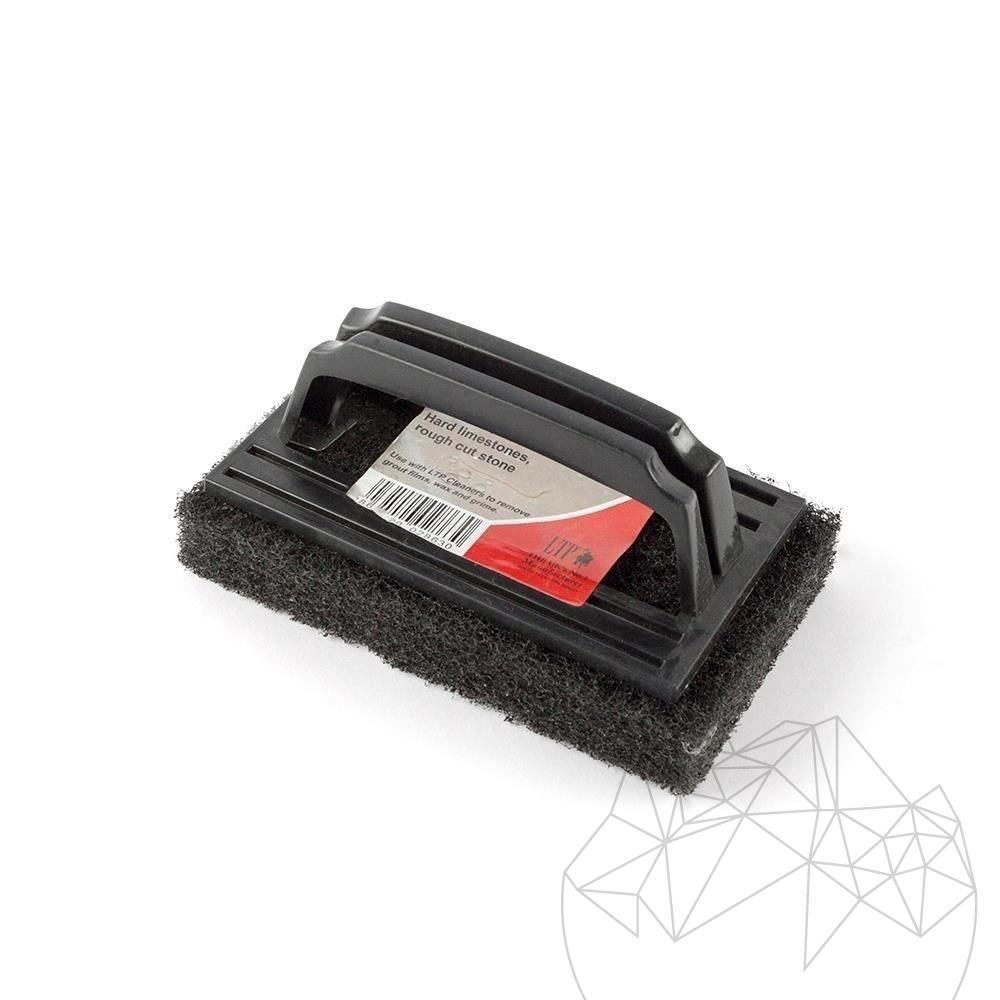 Ltp Black Emulsifying Pad with handle - Heavy duty pad (removes dirt, adhesive, grouting) title=Ltp Black Emulsifying Pad with handle - Heavy duty pad (removes dirt, adhesive, grouting)