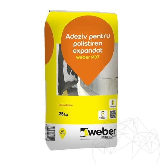 Weber P37 25 KG - Polystyrene insulating systems adhesive