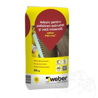 Weber P50 25 KG - Flexible white adhesive for insulating systems