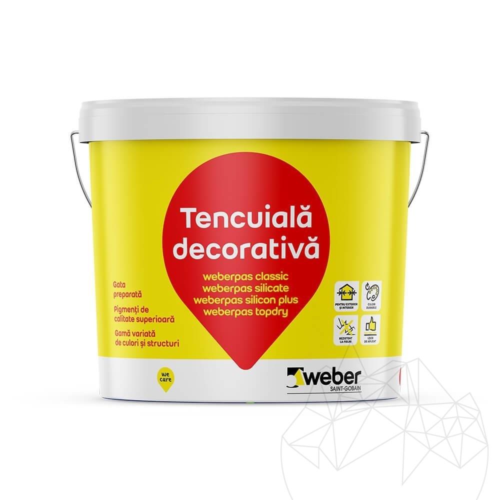 Weber Pas Classic 25 KG - Decorative acrylic plaster