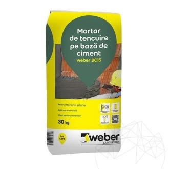 Weber BC15 30 KG - Base wall coating (interior & exterior)