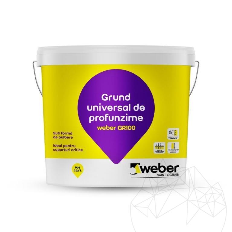 Weber GR100 5 KG - Universal wall & floor deep primer
