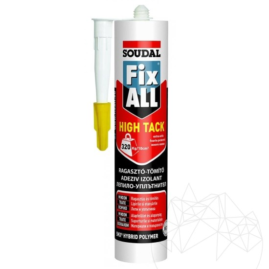 Soudal FIX ALL - SKIN flexible slate adhesive 290 ml