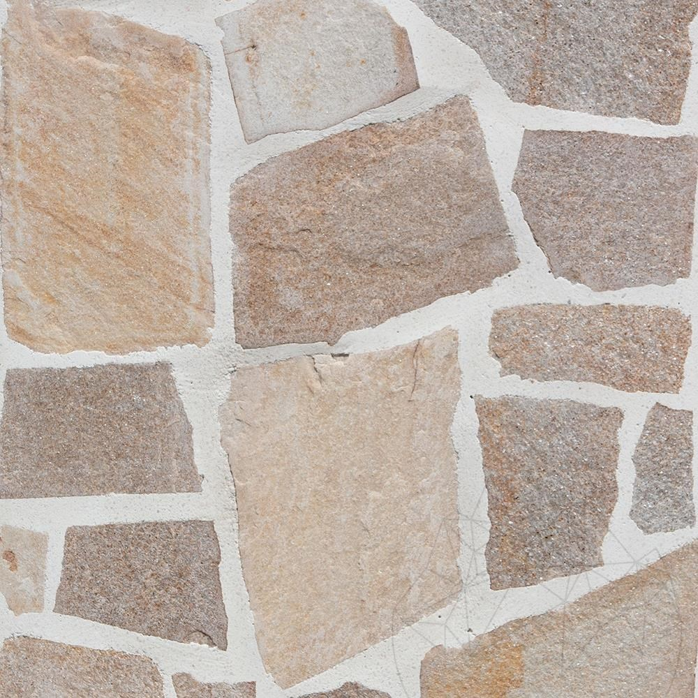 Chimney extension element for garden barbeque 30 x 40 cm with polygonal flagstone title=Chimney extension element for garden barbeque 30 x 40 cm with polygonal flagstone