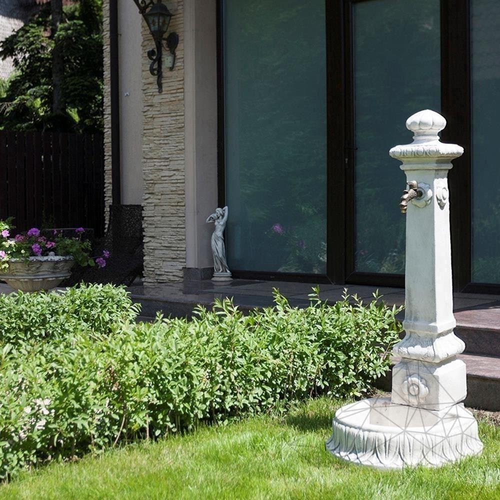 Fontana Amone F 23 - Free standing Water Fountain - Grey Antique finishing