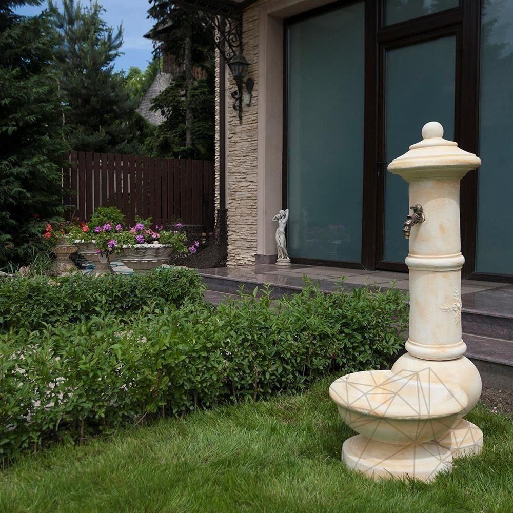Fontana Spello F 22 - Free standing Water Fountain - Cream finishing title=Fontana Spello F 22 - Free standing Water Fountain - Cream finishing