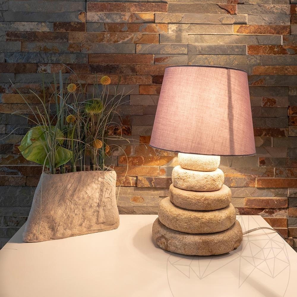 Mandras Sandstone Lamp H: 50 cm