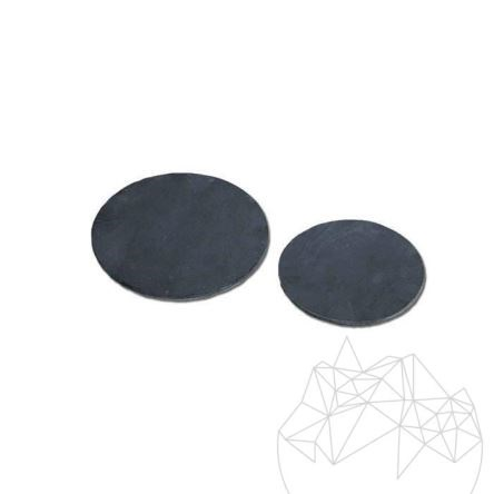 Black Slate - Round Serving Tray