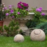 Rainbow Sandstone Decorative Sphere 30 cm