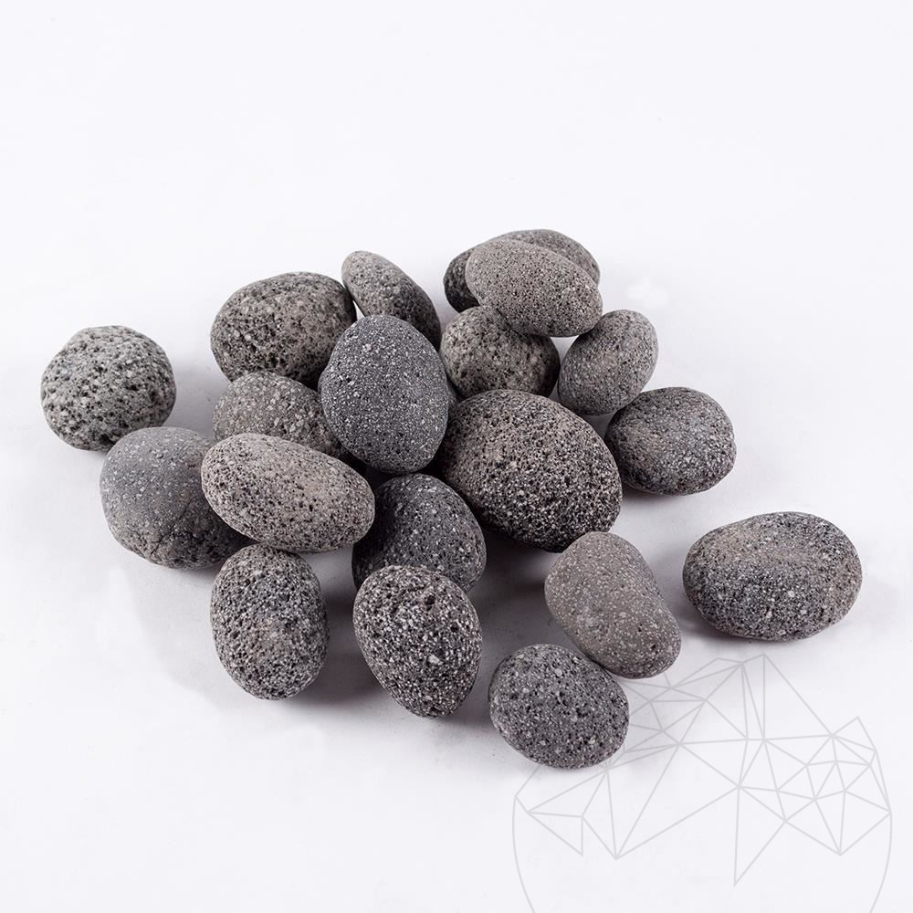 Lava Black Pebble Bag 20 KG