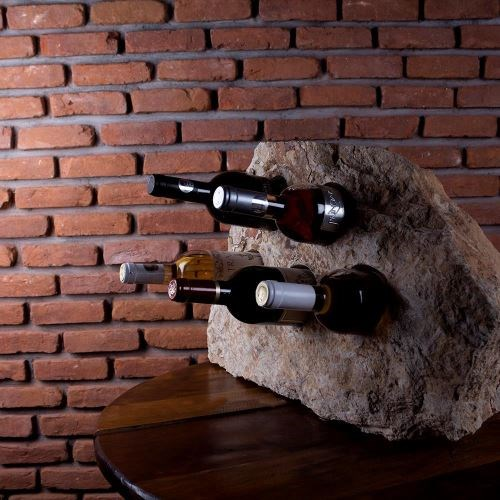 Wine bottle holder - Mandras Sandstone (5 holes)