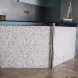 Pebble White Honed Mosaic