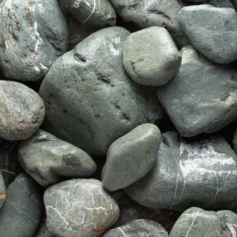Verde Madra Marble Pebble 10-30 cm KG( 128280)