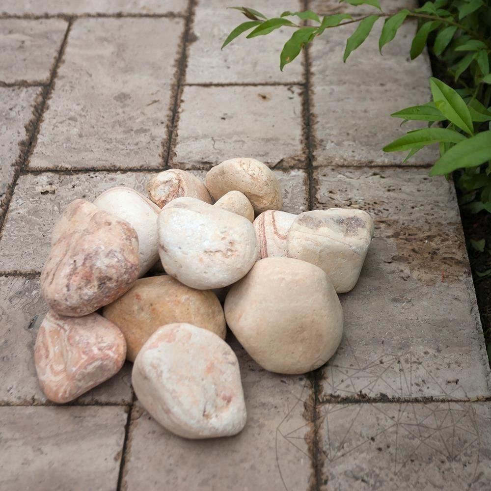 Pebble Sandstone Politiko 6-10 cm Bag 20 KG