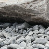 Rock Star Grey Granite Pebble 2-4 cm  KG