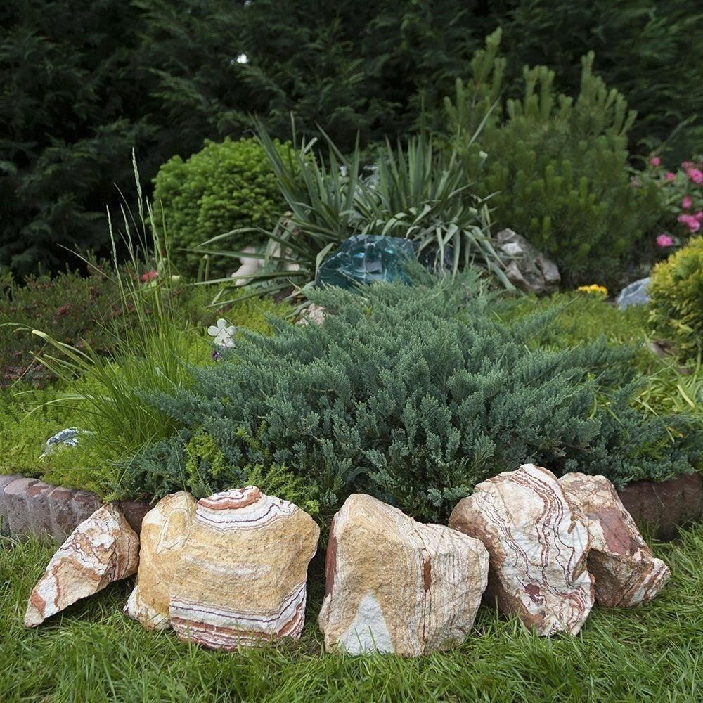 Rainbow Sandstone Decorative Garden Stone KG( 128279)
