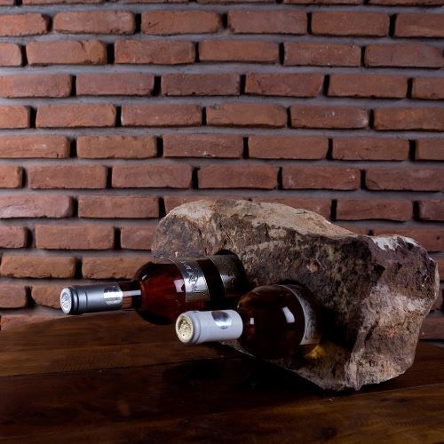 Wine bottle holder - Mandras Sandstone (2 holes)
