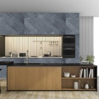 Iris Marble Wall Cladding Panel 15 x 60 cm