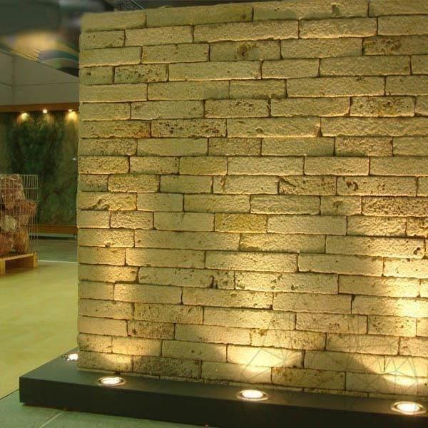Decorative natural stone Airon Bush Hammered Travertine 5 cm x FL ...