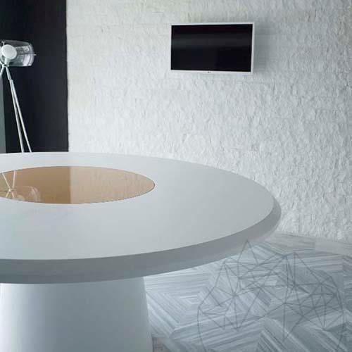 Thassos Splitface Marble 10 cm x FL x 2.2 cm