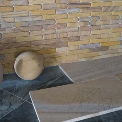 Fileti Tumbled Rainbow Sandstone 4 x 20 x 1 cm title=Fileti Tumbled Rainbow Sandstone 4 x 20 x 1 cm