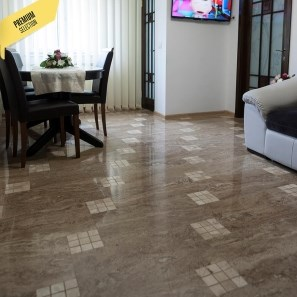 Latte Polished Travertine 61 x 30.5 x 1.2 cm