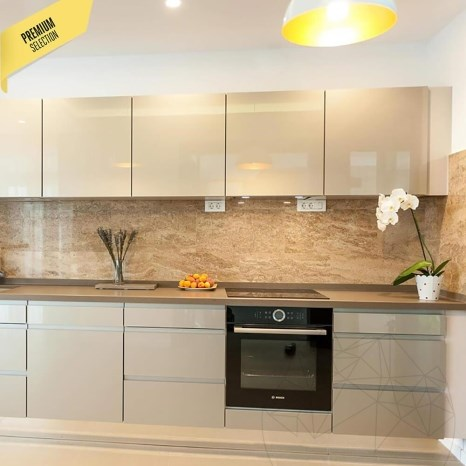 Latte Polished Travertine 60 x 30 x 2 cm