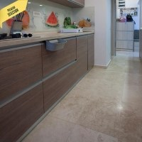 Classic Cross Cut Honed Travertine 61 x 40.6 x 1.2 cm