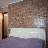 Latte Travertine Polished 3D Wall Mosaic