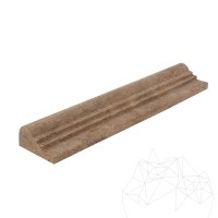 Latte Travertine M7 Moulding 6.2 x 30.5 cm