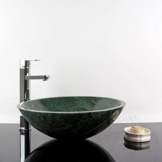Bathroom Sink   Rainforest Green 42 X 14 Cm