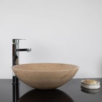 Bathroom sink - Sunny Dream Limestone 42 x 14 cm