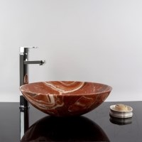 Bathroom Sink Alicante marble 42 x 14 cm